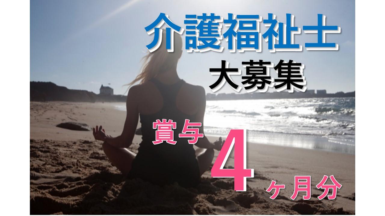 高齢者デイサービス/正社員/介護福祉士/賞与4月分/残業ほぼなし【2013】 イメージ